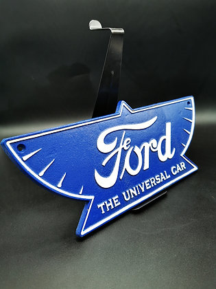 Old ford cast iron wall plaque