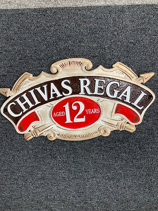 Chivas Regal wall plaque