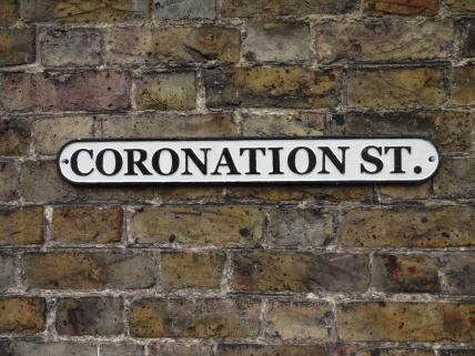 Coronation Street Cast Iron Wall Plaque