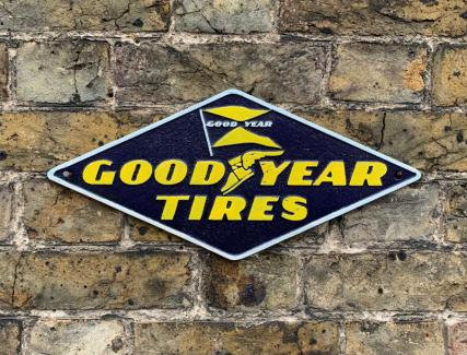 GOODYEAR TYRES WALL PLAQUE