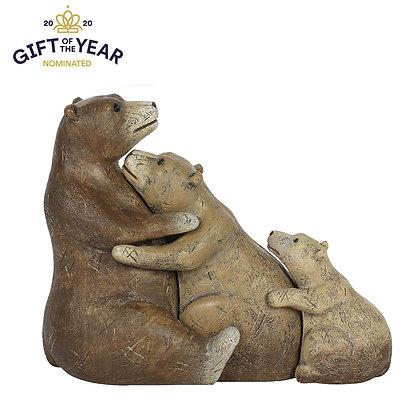 Bear Family Ornament