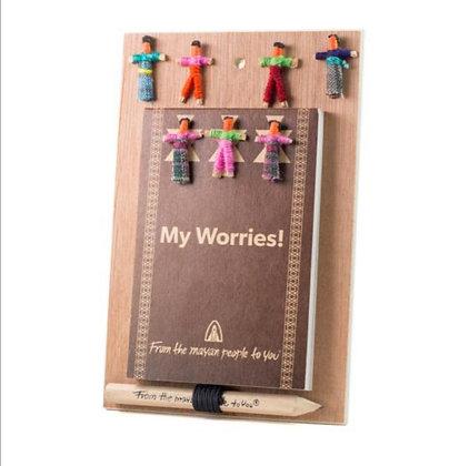 My worries notebook