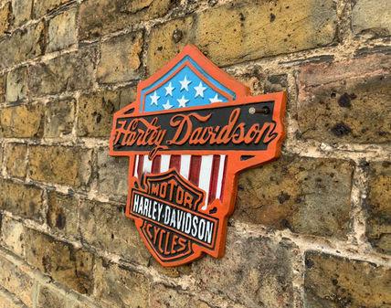 Harley Davidson Motorbike - Type 3 - USA