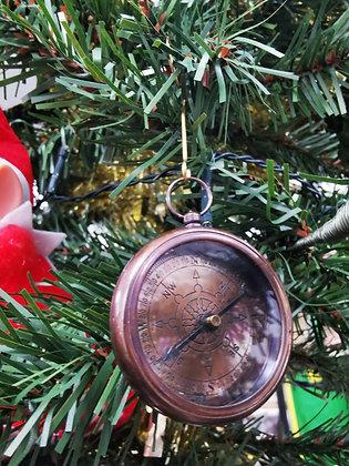 White Star Line Titanic - Brass Compass