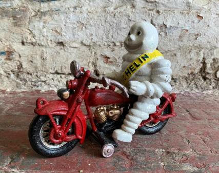 Michelin Man on Motorbike