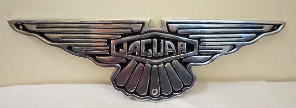 Aluminium Jaguar Sign