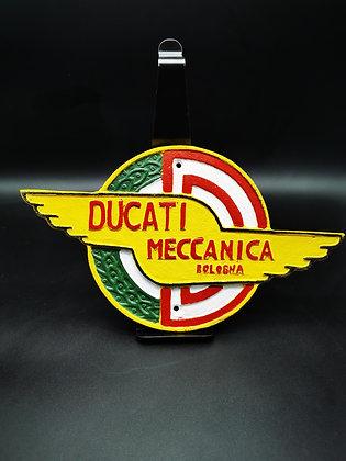 Ducati Meccanica Wall Plaque