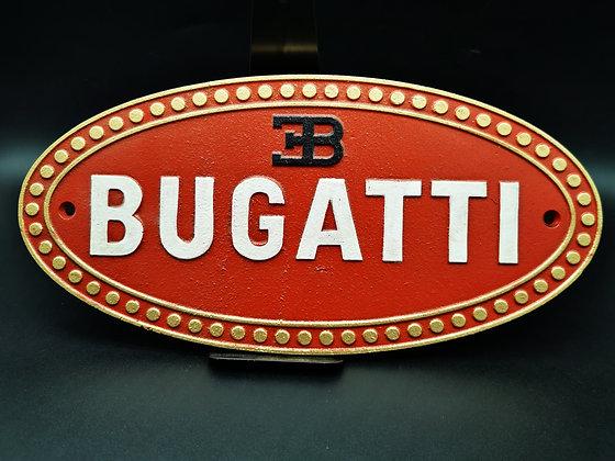 Bugatti wall plaque