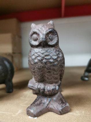 Cast iron owl