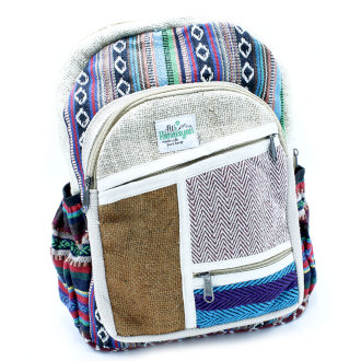 Small Backpack - Zig Zag Zips Style