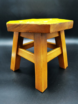 Save our Bees children's wooden stool