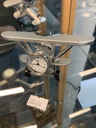 Small plane clock