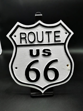 Route 66 wall plaque