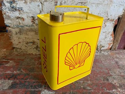 RECTANGULAR SHELL FUEL CAN - DECORATIVE