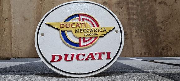 Ducati wall plaque