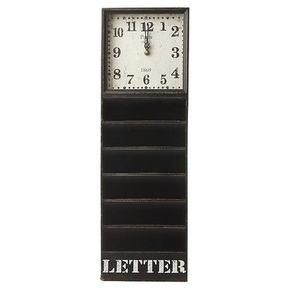 Letter Rack Clock