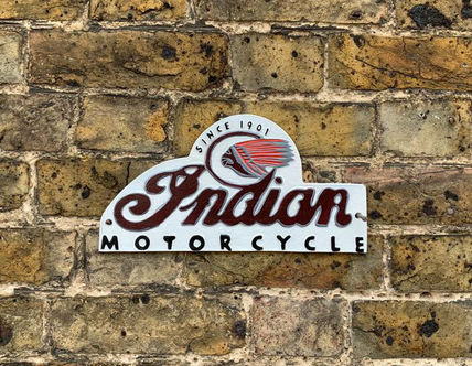 Indian Motorcycle - Domed