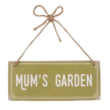 Mums Garden MDF sign