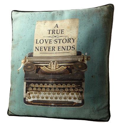 A True Love Story Cushion