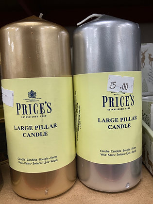 Prices Pilar Candle