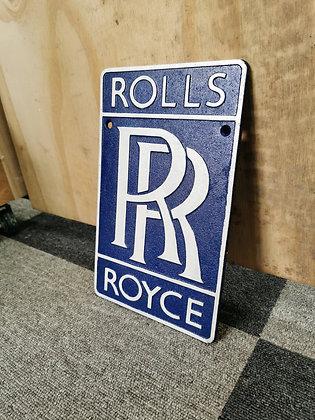 Rolls Royce Motor Plaque