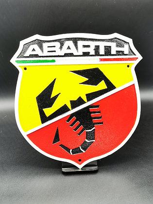 Abarth Plaque