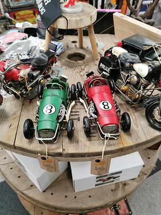 Tin Racing Cars
