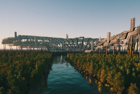 Building a Mega Structure   Have you heard of the Free Republic of Liberland?