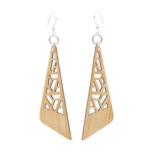 Zetangle Bamboo Earrings
