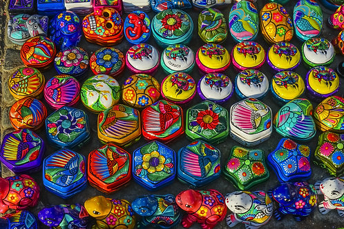 Mini ceramic decor box