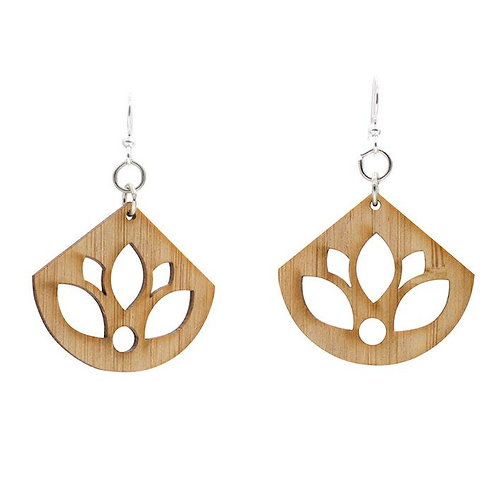 Lotus Bamboo Earrings