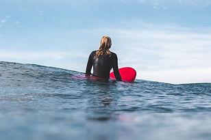 En attente d'une vague