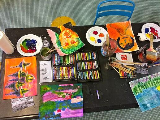 ateliers peinture paris