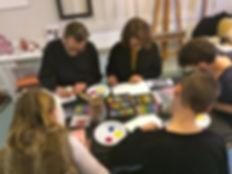 Atelier de peinture et atelier d'écriture à Paris