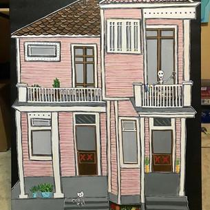 Pink Esplanade House