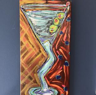 Martini 3 Olives