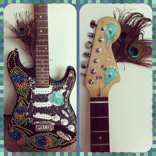 Peacock Guitar