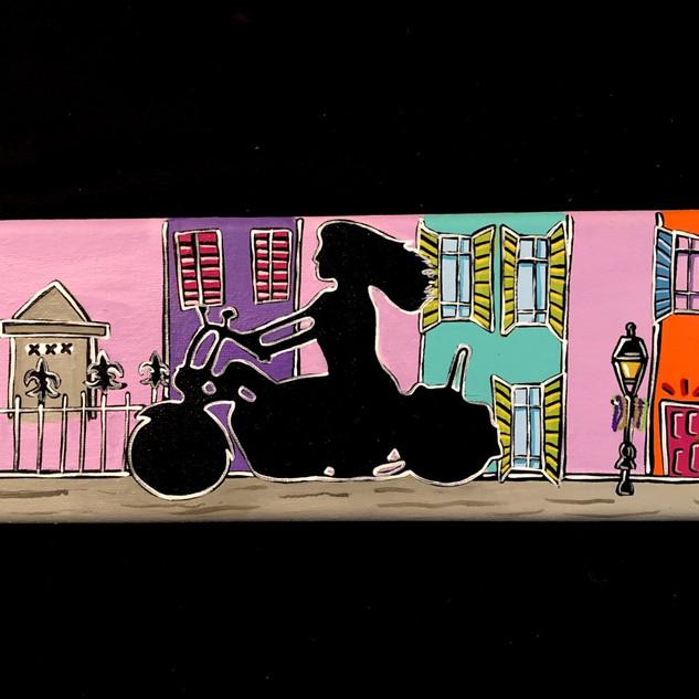 Motorcycle Nola Scene