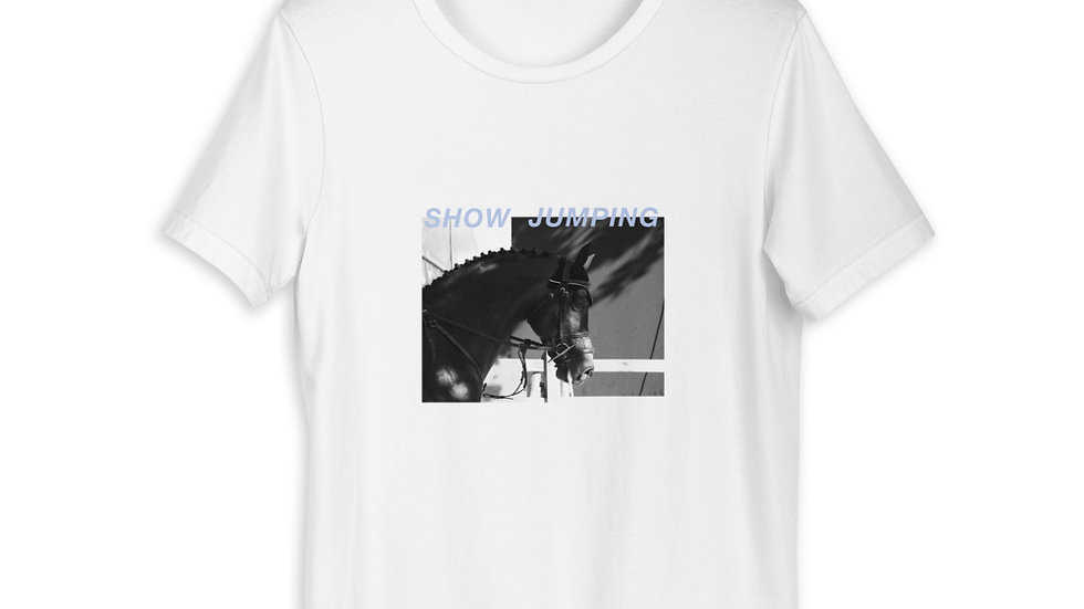 T-shirt show jumping collection equine