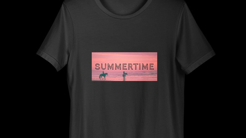 T-shirt Summertime collection equine