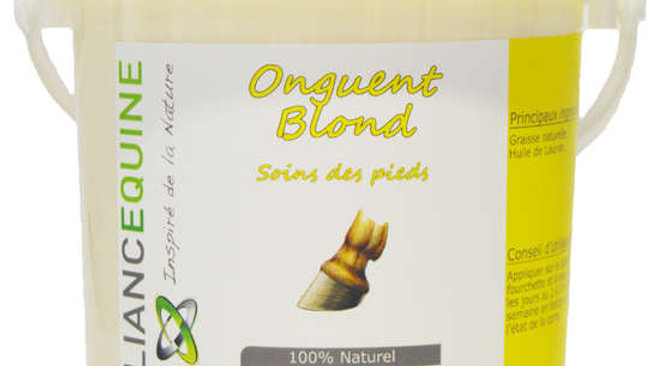 onguent blond alliance equine