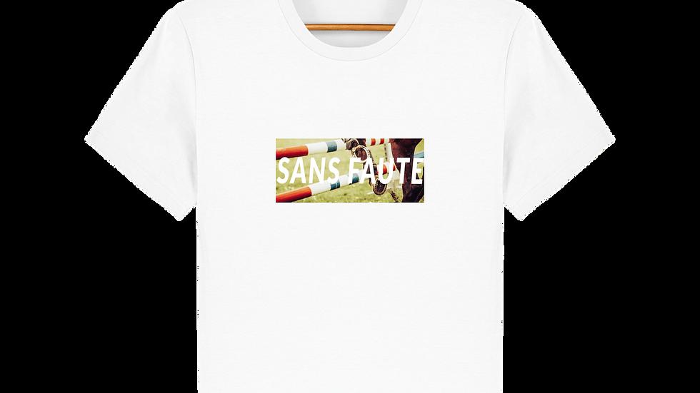 """T-shirt collection équine """"sans faute"""""""