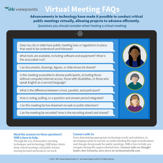 Virtual Meeting FAQs