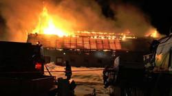 Le feu détruit une ferme à St-Joseph