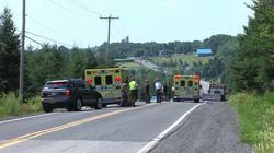 Accident de moto mortel à Saint-Geor