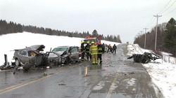 Accident mortel à Frampton