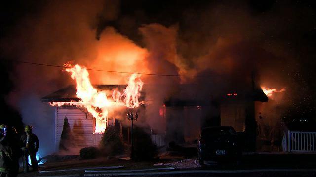 Un incendie détruit une résidence à