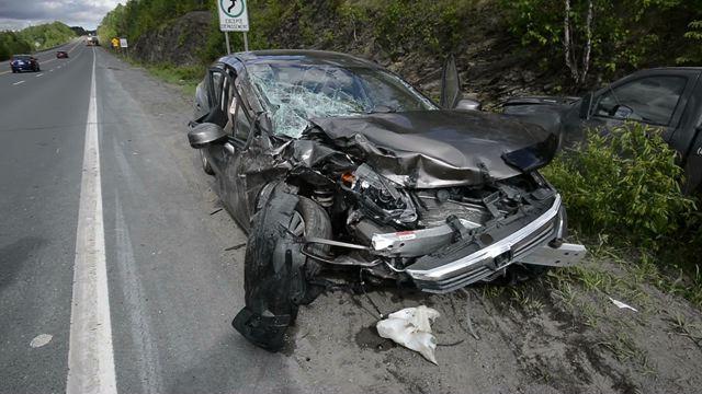 Un accident fait trois blessés à Sai