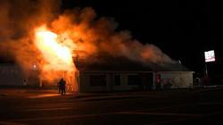 Incendie au Resto chez Nathalie de S