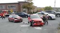 Un accident fait deux blessés à